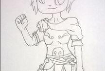Female Roman Legionary
