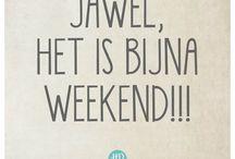 bijna weekend