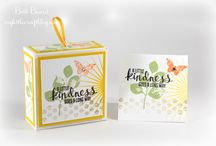 Miniature Cards and Boxes / Miniature cards such as 3 x 3.  Boxes to accompany mini cards.