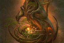Drachen Fantasie
