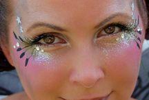 Glitter kasvomaalauksia