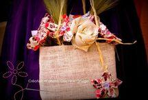 Accessoires et bouquets de mariée / Créations originales et intemporelles de La mariée en fleur