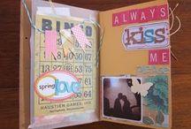 Smash, mini albums, art journals, doodles / by Erin Schultz