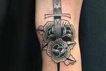 Traditonal/ Dotwork / traditional tattoos, dotwork