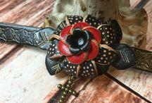 Leather Flower Bracelets ❤️