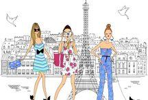 Paryż art