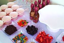CANDY BAR ET BUFFETS / Candy Bar, Bars et Buffets.