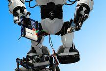 Positron-libre / Robots et modules électroniques