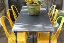 Projet chaises jaunes