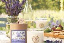 Levandulové opojení / Levandule a verbena (Bylinné a dřevité) Vdechujte čistou, dřevitou vůni levandule vypěstované na provensálských polích.