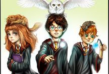 harry potter / by Connie Smith