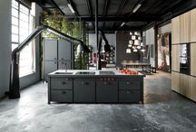 19 industrial style kitchens to be surprised