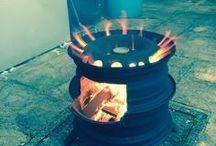 rocket stoves to produce