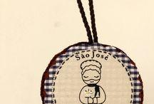 Medalhão de São José by Santa Bonita