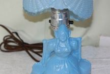 blue lady lamp collection