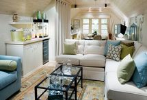 Around the Corner! / Reinventing corners, attics and extra space into something FABULOUS!