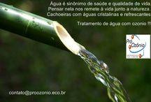Água - tratamento com ozonio