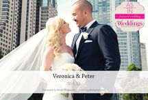 Featured Real Wedding: Veronica & Peter {from the Summer/Fall 2014 Issue of Real Weddings Magazine} / Veronica & Peter-Featured Real Wedding from the Summer/Fall 2014 issue of Real Weddings Magazine, www.realweddingsmag.com. Photos by and copyright Shoop's Photography, www.ShoopsPhotography.com. See more here: http://www.realweddingsmag.com/featured-real-wedding-veronica-peter-from-the-summerfall-2014-issue-of-real-weddings-magazine/