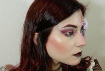Steampunk make-up. / https://youtu.be/AlbH7RbEfVw