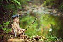 fishing theme photoshoot / by Ashley Lucas