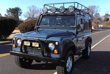 Land Rover Defender 90 / The original off road machine.  It can go anywhere and it has a rugged yet elegant look that is unsurpassed. There's a reason they haven't changed the look in 50 years.