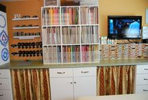 Mission Organization / Stamping Spaces and Craft Organization ideas / by Splitcoaststampers