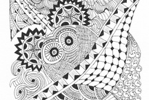 Art: Zentangles / by Tammy Magill