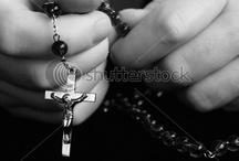 Rosaries & Religion / My Catholic upbringing  / by Barbara Wilson