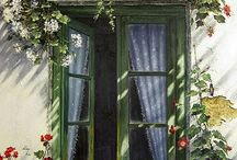ventana verde