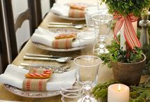 TableScapes / Table settings / by Andi Kuck