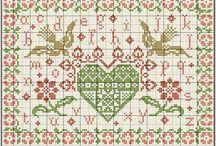 Hearts swap ideas / Cross stitch swap