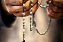 Religion hand