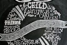 Chalkboard inspiration  / by Elizabeth Spinsby