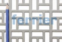 Design perforated metal / Patterned perforated metal used for radiator covers, built ins, cabinets, dividers, privacy screens and mill work.
