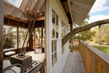 tree houses / I just love tree houses. I would love to build one someday.