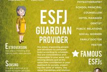 ESFJ / ESFJ - The Caregiver. Projects warmth with a genuine interest in other's well-being.