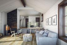 Interior - Render & Photo