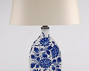 Blue and White Table Lamps / by Lamp Store