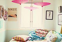 Isomman tytön huone