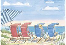The Beach / by LuAnn Moore
