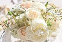 Centerpieces- White / Centerpieces utilizing only white flowers
