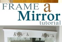 Frame for mirros