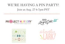 Serena & Lily Style / Project Nursery, Green Wedding Shoes, Mini Magazine, A Lovely Lark, 100 Layer Cakelet, and La Petite Peach show us how they Serena & Lily! #serenaandlilystyle Join us Tuesday August 27 at 6pm PDT / 9 pm EDT!