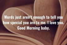 Good morning Boo
