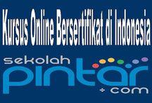 KURSUS ONLINE / Kursus online yang bersertifikat resmi di Indonesia telah disuguhkan oleh Sekolah Pintar dengan menggunakan Teknologi NBLS (Neo Babastudio Learning System).