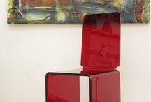 UNICA2 / Plexiglass chair  By Lab145 Design Factory