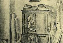 Vladimir Favorsky / Vladimir Andreyevich Favorsky (Russian: Владимир Андреевич Фаворский, March 14, 1886 – December 29, 1964) was a Soviet graphic artist, woodcut illustrator, painter, muralist, and teacher.