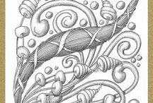Tangle tekeningen