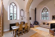 converted churches to homes