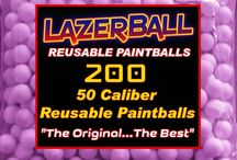 Rubber Balls for Paintball - 50 Caliber Paintball / Rubber Balls made exclusively to shoot with 50 Caliber Paintball guns made by Spyder or JT Splatmaster
